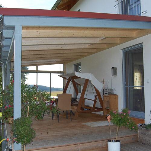 Terrassenüberdachung S5 Gurten